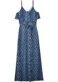 MICHAEL Michael Kors Saturated Snake Chain Maxi