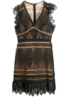 MICHAEL Michael Kors scalloped lace dress