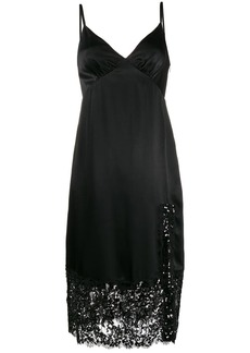 MICHAEL Michael Kors sequin embellished slip dress