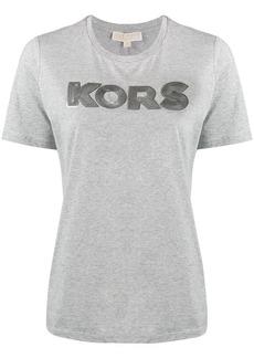 MICHAEL Michael Kors sequin logo embellished T-shirt