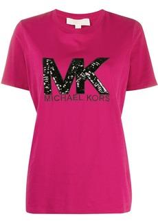 MICHAEL Michael Kors sequin-logo T-shirt