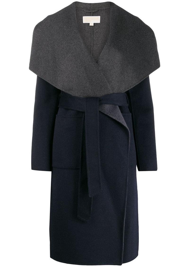 MICHAEL Michael Kors shawl collar coat