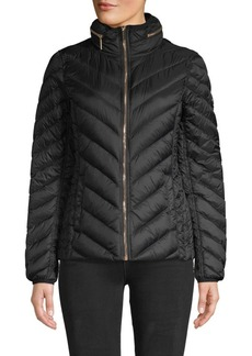 MICHAEL Michael Kors Short Packable Jacket