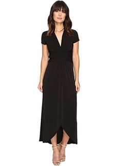 MICHAEL Michael Kors Short Sleeve Maxi Wrap Dress