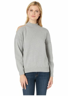 MICHAEL Michael Kors Shoulder Cut Out Turtleneck