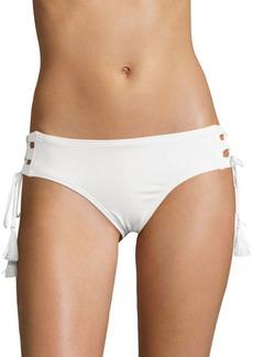 Side Lace-Up Bikini Bottom