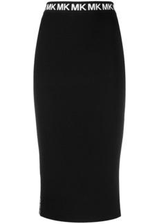 MICHAEL Michael Kors side logo skirt