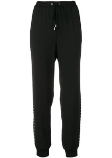 MICHAEL Michael Kors side studs track pants