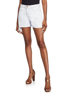 MICHAEL Michael Kors Side-Tie Jean Shorts