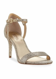 MICHAEL Michael Kors Simone Fabric Strappy Sandals  Gray