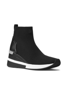 MICHAEL Michael Kors Skyler Soft Knit High-Top Wedge Sneakers