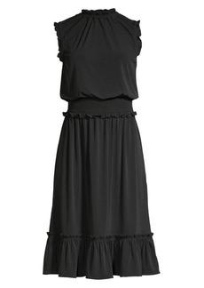 MICHAEL Michael Kors Sleeveless Smocked Dress