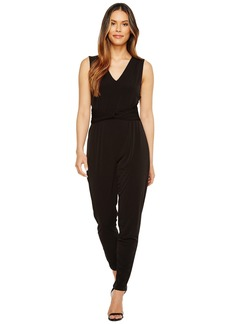 MICHAEL Michael Kors Sleeveless Waist Twist Jumpsuit