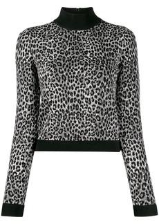 MICHAEL Michael Kors slim-fit animal print jumper