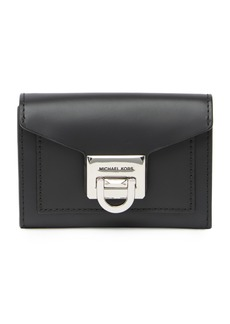 MICHAEL Michael Kors Small Flap Leather Wallet