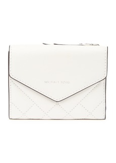 MICHAEL Michael Kors Small Quilted Leather Card Wallet