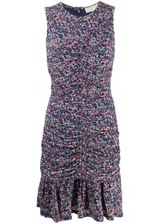MICHAEL Michael Kors smocked confetti dress