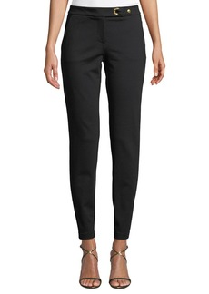MICHAEL Michael Kors Snap-Button Straight Leg Pants