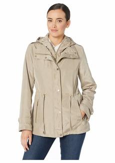 MICHAEL Michael Kors Snap Front Rain Jacket M324064M