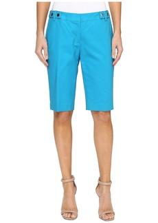 MICHAEL Michael Kors Snap Waist Bermuda Shorts