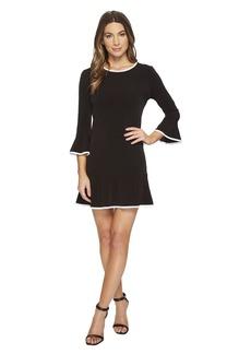 MICHAEL Michael Kors Solid Flounce Dress