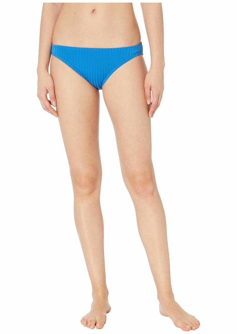 MICHAEL Michael Kors Solid Rib Classic Bikini Bottoms