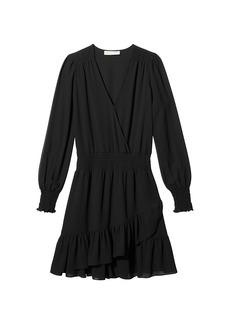 MICHAEL Michael Kors Solid Ruffle Dress