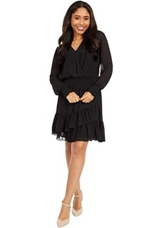 MICHAEL Michael Kors Solid Ruffle Dress