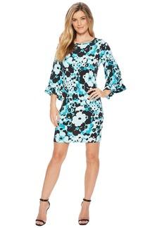 MICHAEL Michael Kors Springtime Flare Sleeve Dress