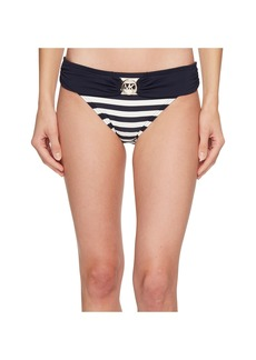 Stable Stripe Logo Ring Classic Bikini Bottoms