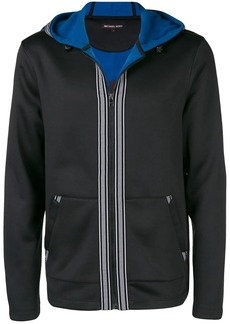MICHAEL Michael Kors stripe trim hoodie