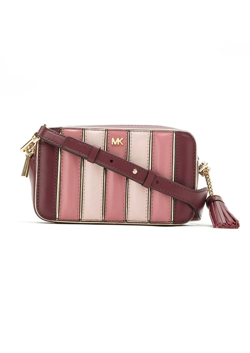 MICHAEL Michael Kors striped panelled camera bag