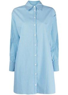 MICHAEL Michael Kors striped stretch-cotton shirt