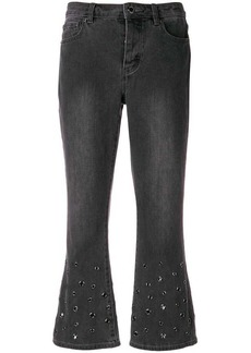 MICHAEL Michael Kors stud detailed crop trousers