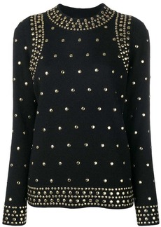 MICHAEL Michael Kors studded detail sweater