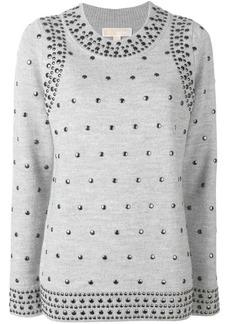 MICHAEL Michael Kors studded knit jumper