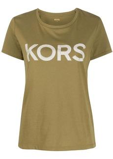 MICHAEL Michael Kors studded logo T-shirt