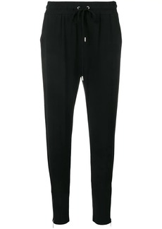 MICHAEL Michael Kors tapered ankle zip track trousers