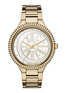 MICHAEL Michael Kors Taryn Celestial Yellow-Golden Bracelet Watch