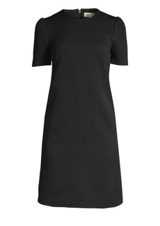 MICHAEL Michael Kors Textured Princess Sleeve Dress