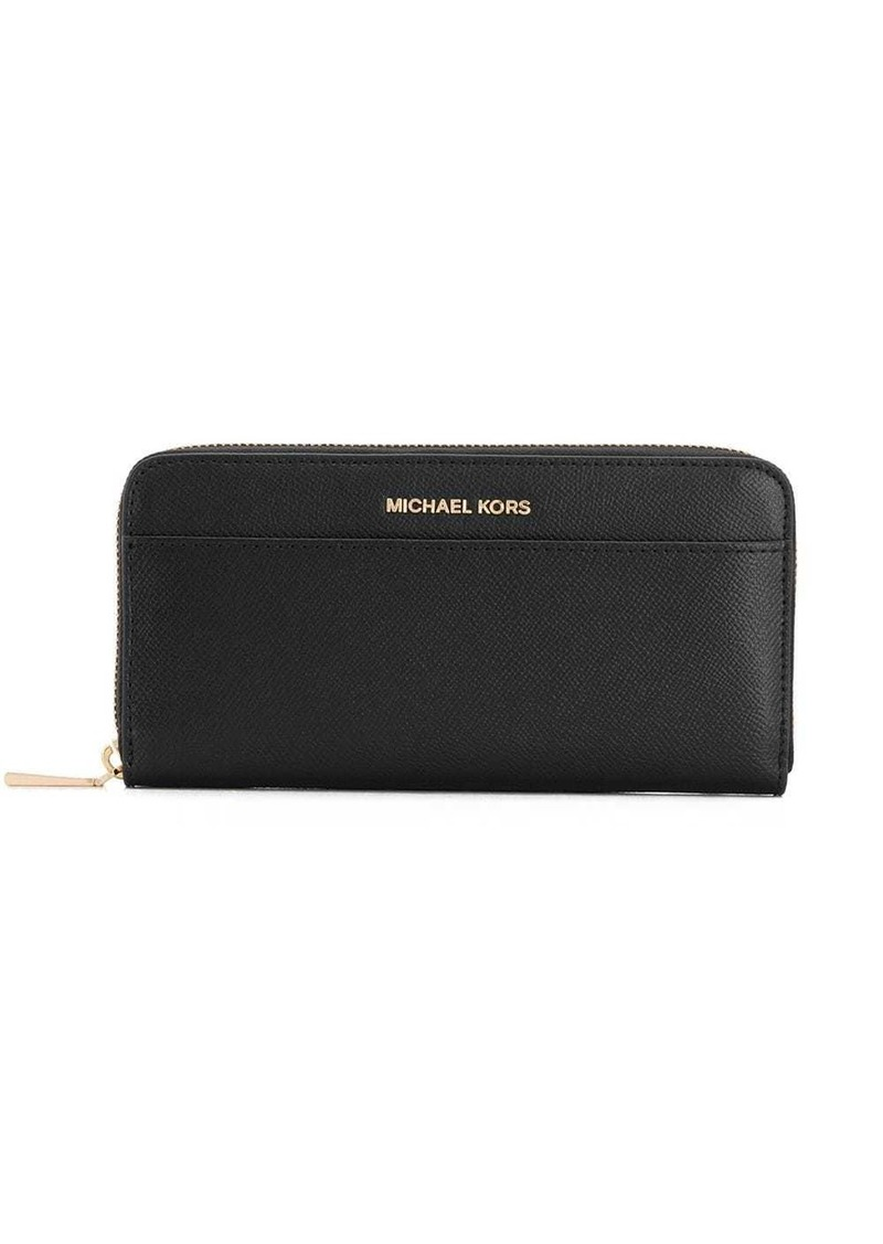MICHAEL Michael Kors textured zip wallet
