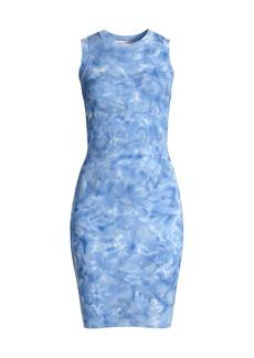 MICHAEL Michael Kors Tie-Dye Midi Tank Dress