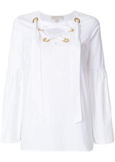 MICHAEL Michael Kors tie-neck blouse
