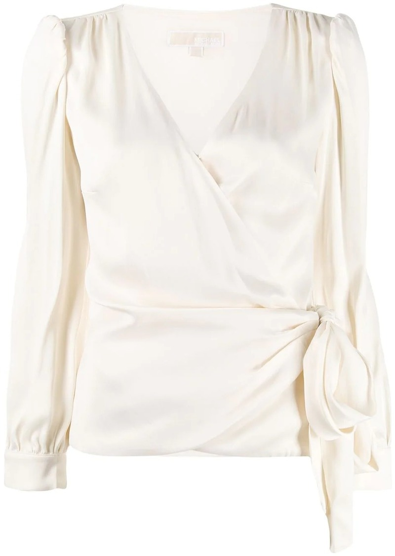 MICHAEL Michael Kors tie-waist blouse