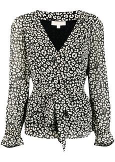 MICHAEL Michael Kors tie waist blouse