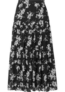 MICHAEL Michael Kors Tiered Floral-print Chiffon Skirt