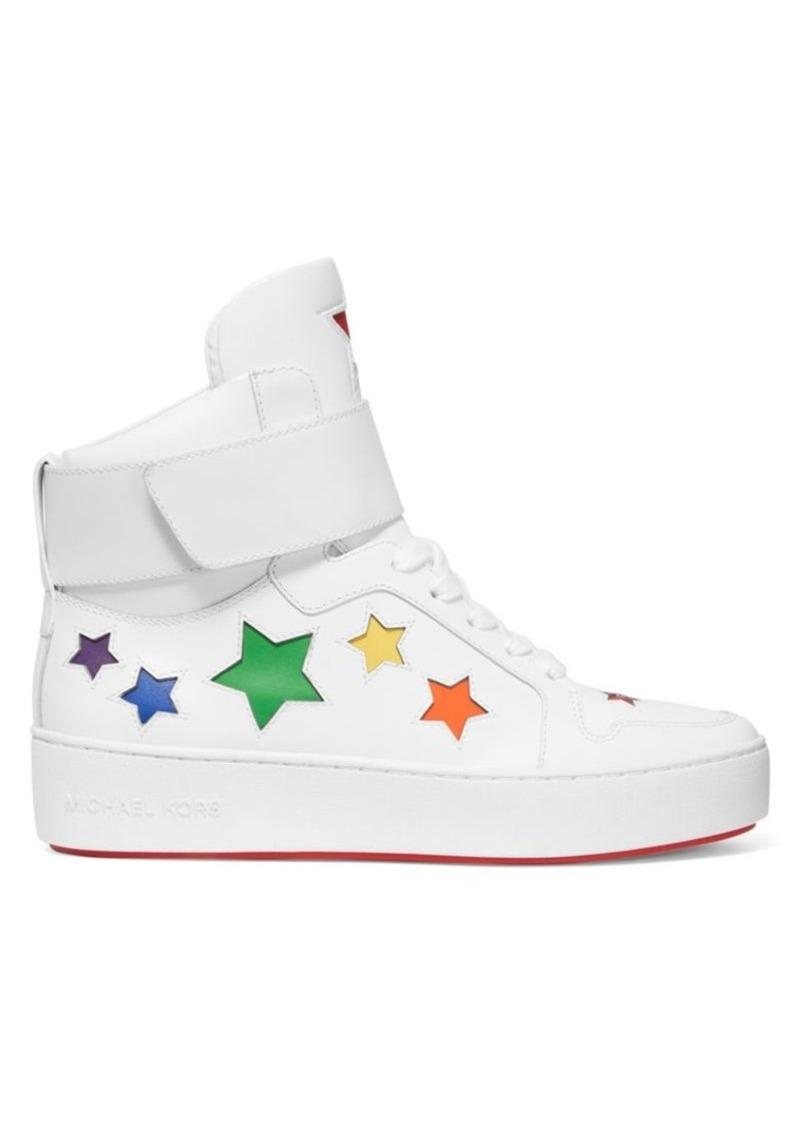 MICHAEL Michael Kors Trent High-Top Star Sneakers