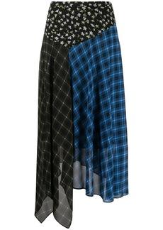 MICHAEL Michael Kors tri-print skirt