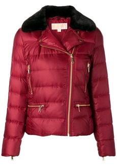MICHAEL Michael Kors trimmed water-resistant jacket