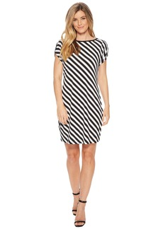 MICHAEL Michael Kors Tulip Sleeve Striped Dress